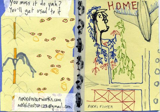 Home, 8 page A6 Zine
