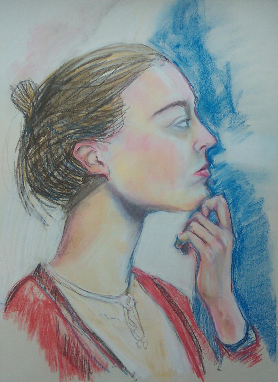 Chalk pastel