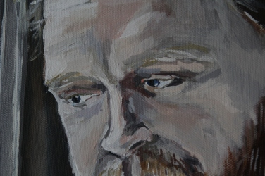 Alan's Portrait, eye detail