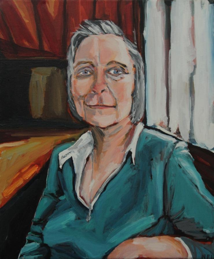Deirdre (portrait of my mother)