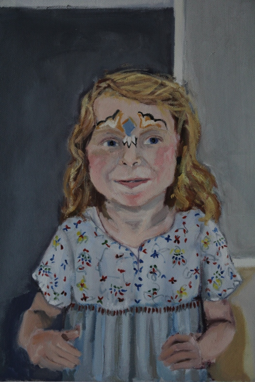 Eppie (portrait of my daughter)