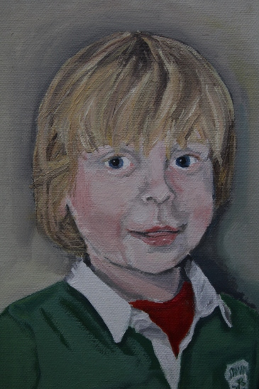 George (detail) Oil on canvas, 30 x 40 cm