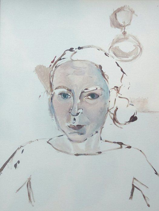 Beginnings of a Self Portrait
