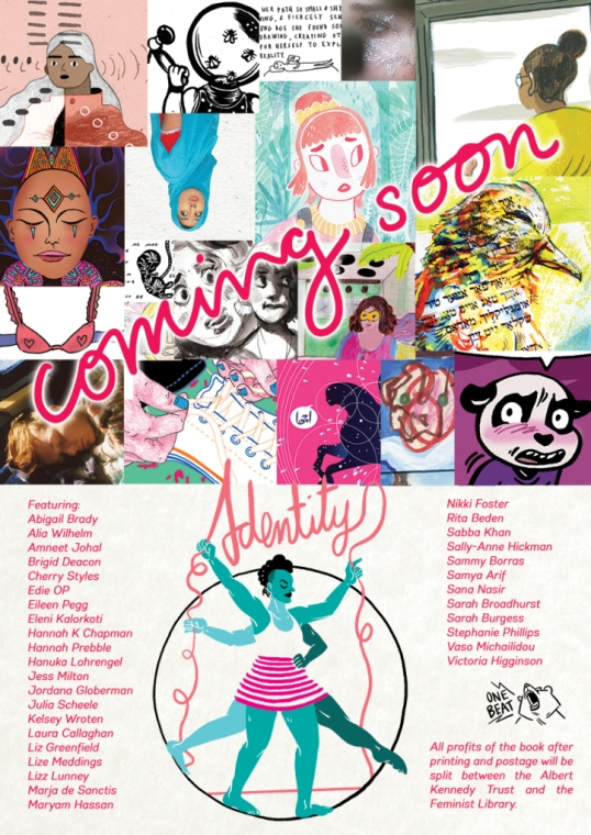 Identity an anthology by One Beat Zines, have included illustrations Lady Limbo I and II